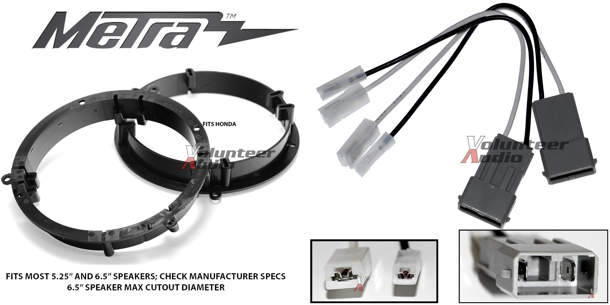 Metra 82-7803 Speaker Adapters