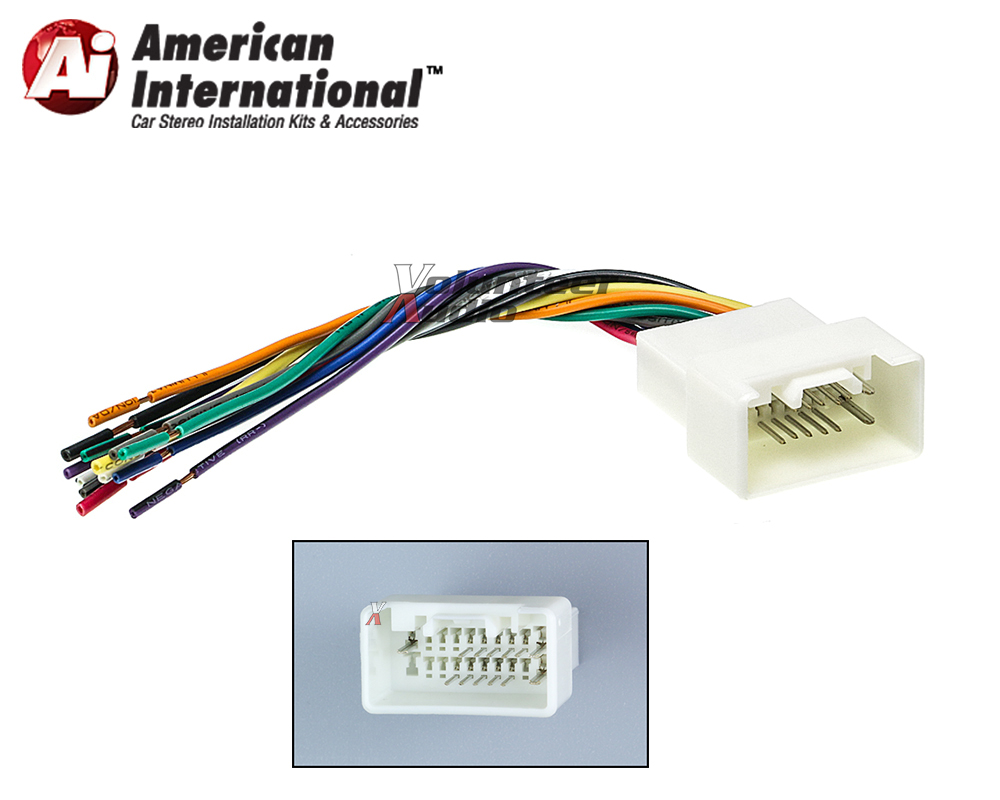 American International Wiring Harness Solutions Scoscher Mi04b With Oem Plugs Wire Center