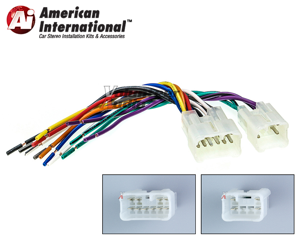 Wiring Harness Adapter Plug for Aftermarket Radio Twh950 American  on