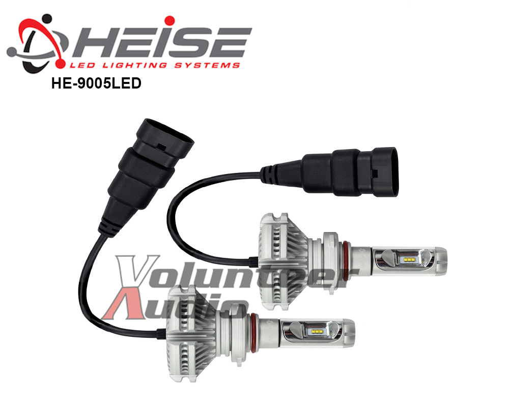 Details about Metra Heise 9005 Single Beam LED Headlight Kit Phillips  Luxeon LED IP65 Rated