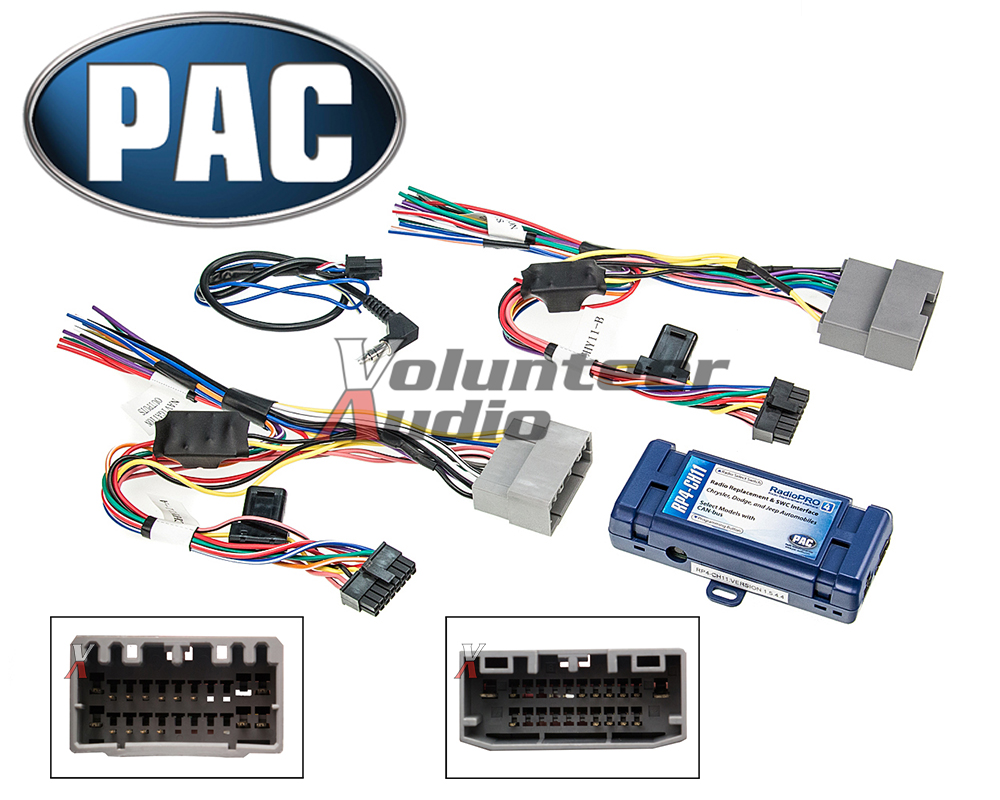 Details about PAC RP4-CH11 Select Chrysler Radio Interface + Steering on