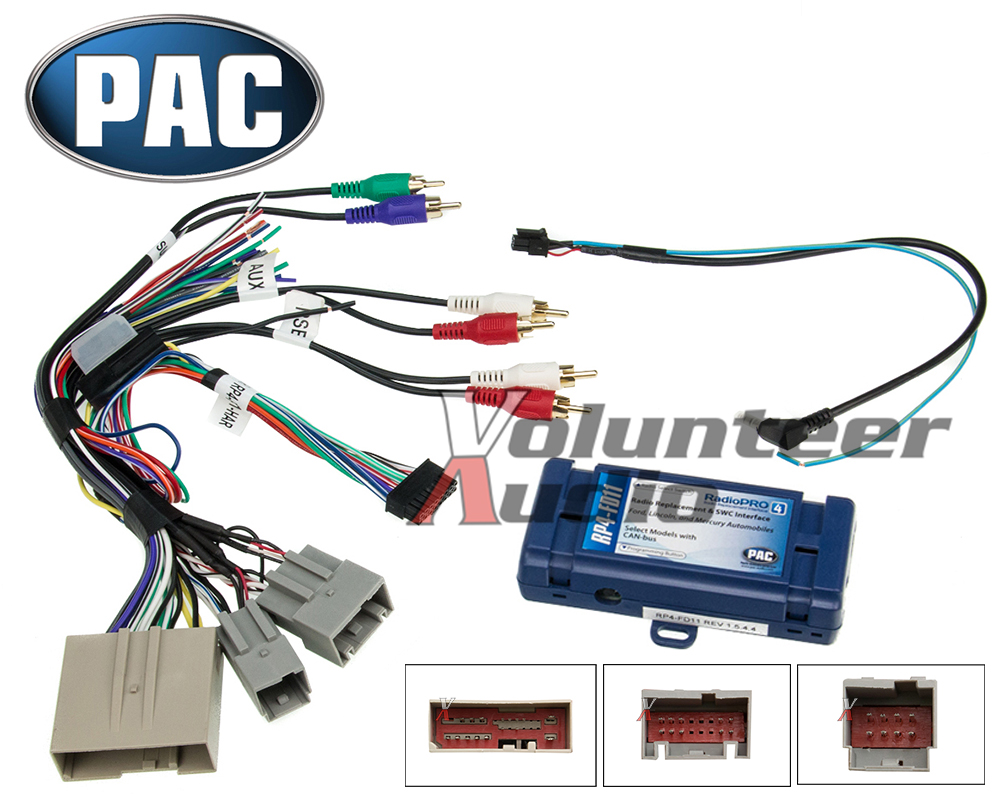 2006-2012 Select Ford Lincoln Mercury Radio Install Wiring Harness Interface