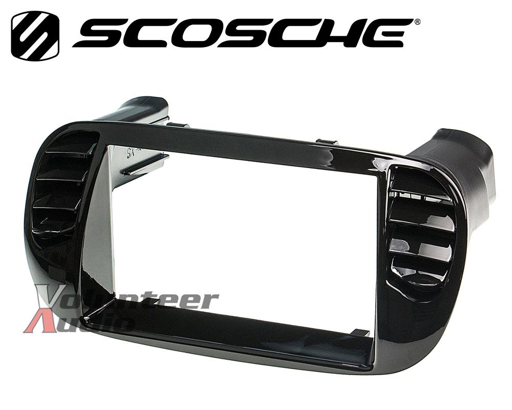 scosche car stereo dash installation kit for fiat 500 ebay. Black Bedroom Furniture Sets. Home Design Ideas