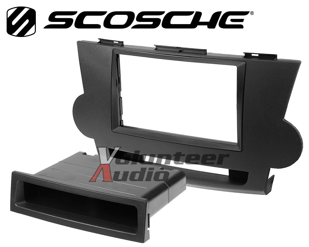Details about Toyota Highlander Car Stereo Radio Installation Mount Trim  Panel Dash Kit BLACK