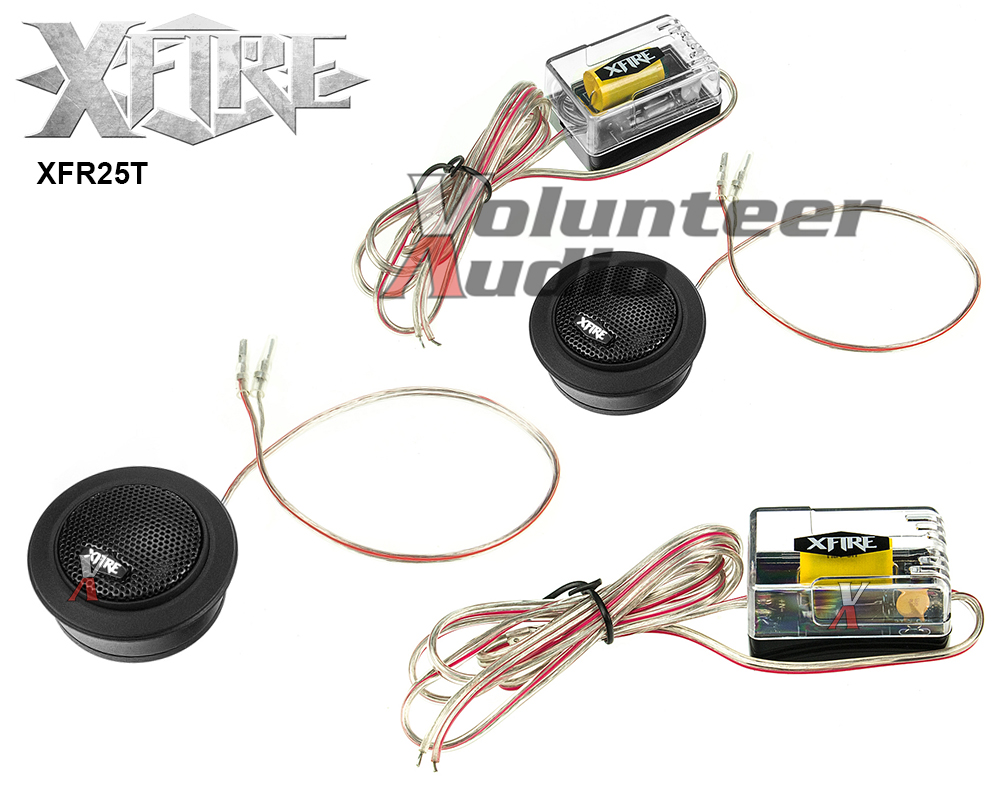 ROCKFORD FOSGATE T1T-S POWER COMPONENT 75W RMS DOME TWEETERS /& CROSSOVERS NEW