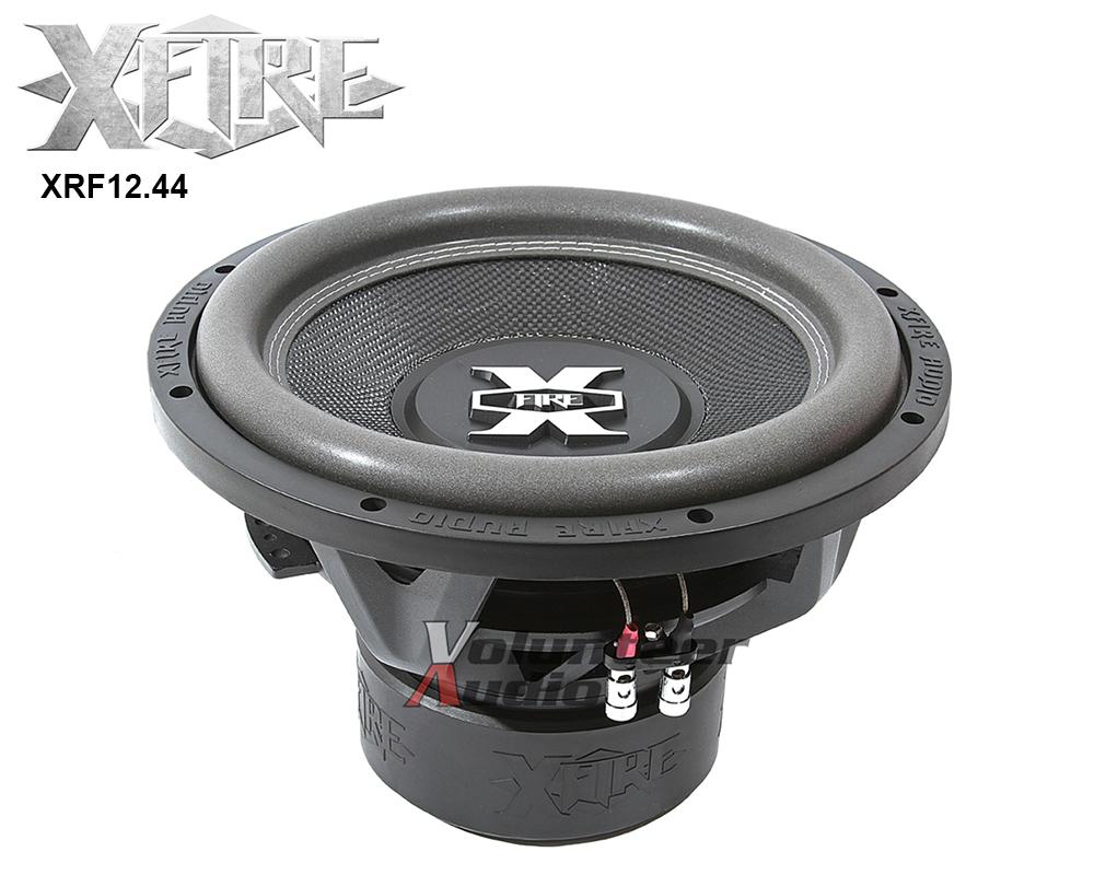 Xfire Xfr Series Xfr1244 2250w Peak 750w Rms Dual 4 Ohm Dvc 12 Subwoofer Additionally 2 Sub Wiring On Subwoofers Links