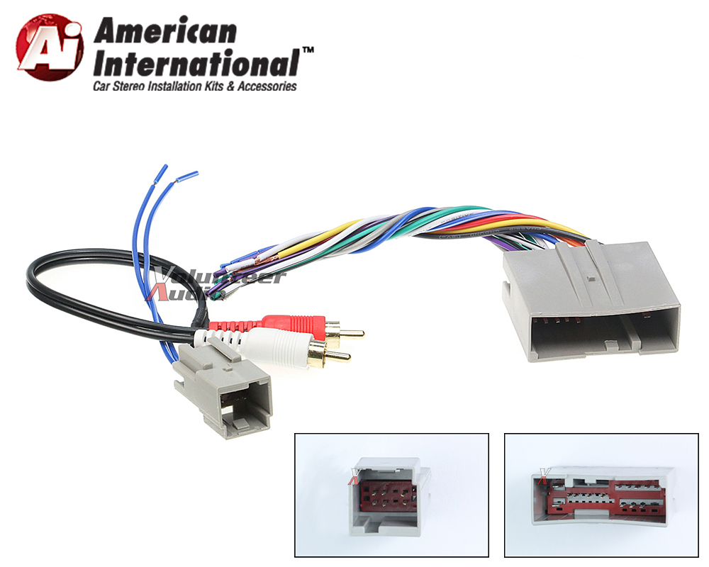 audiophile car stereo cd player wiring harness wire aftermarket rh ebay com Car Stereo Wire Connectors Clarion Car Stereo Models