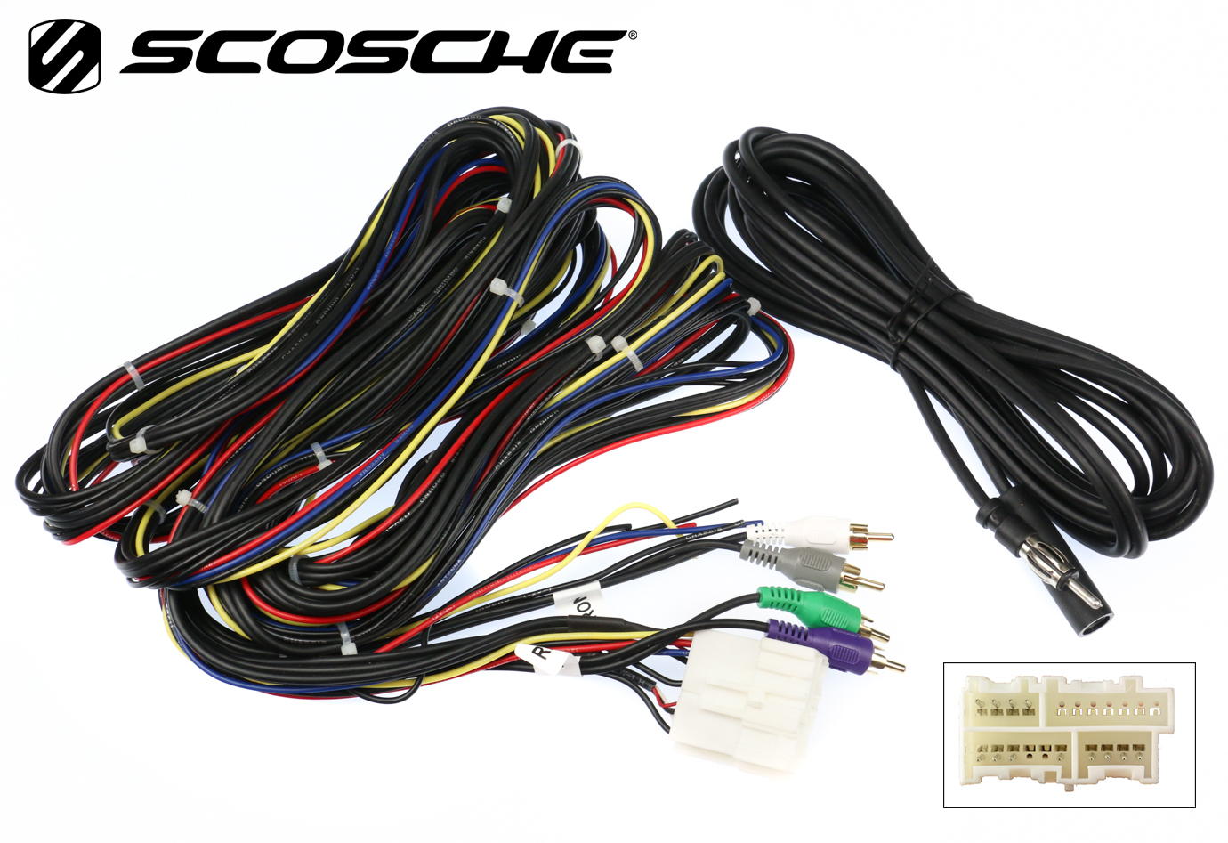 Tuner Bypass Car Stereo Cd Player Wiring Harness Wire Aftermarket 1992 Corvette Radio Links