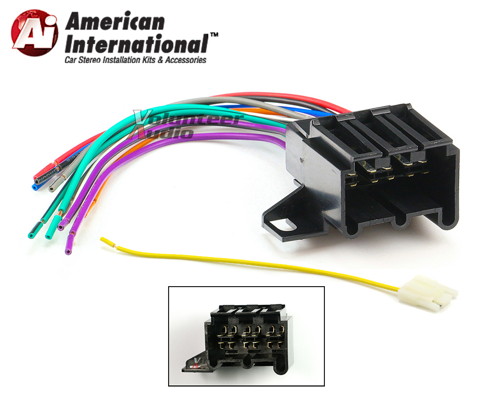 Stereo Wiring Harness Kit - wiring diagram on the net on