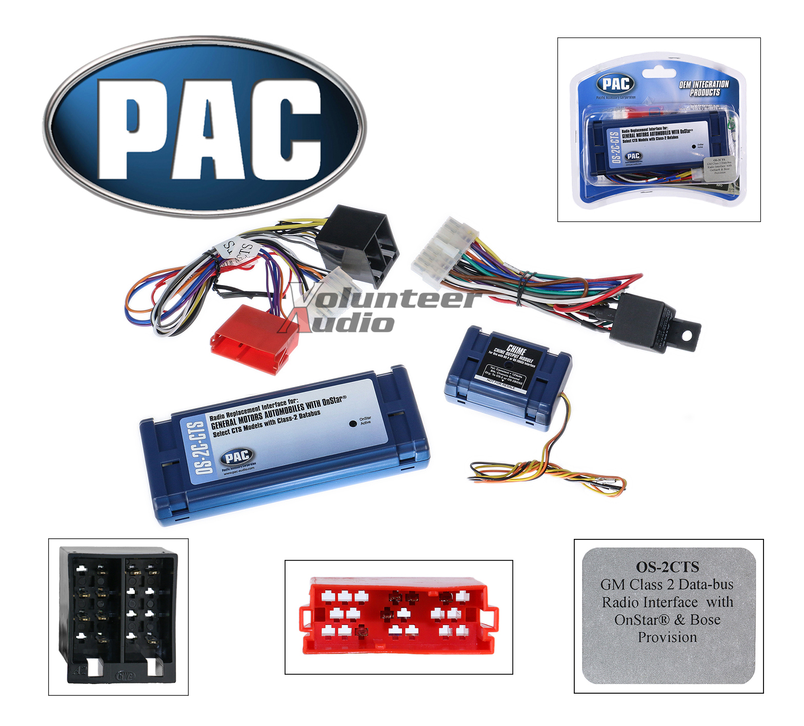 Pac Os 2c Cts Onstar Radio Replacement Wiring Interface Harness Oem Links