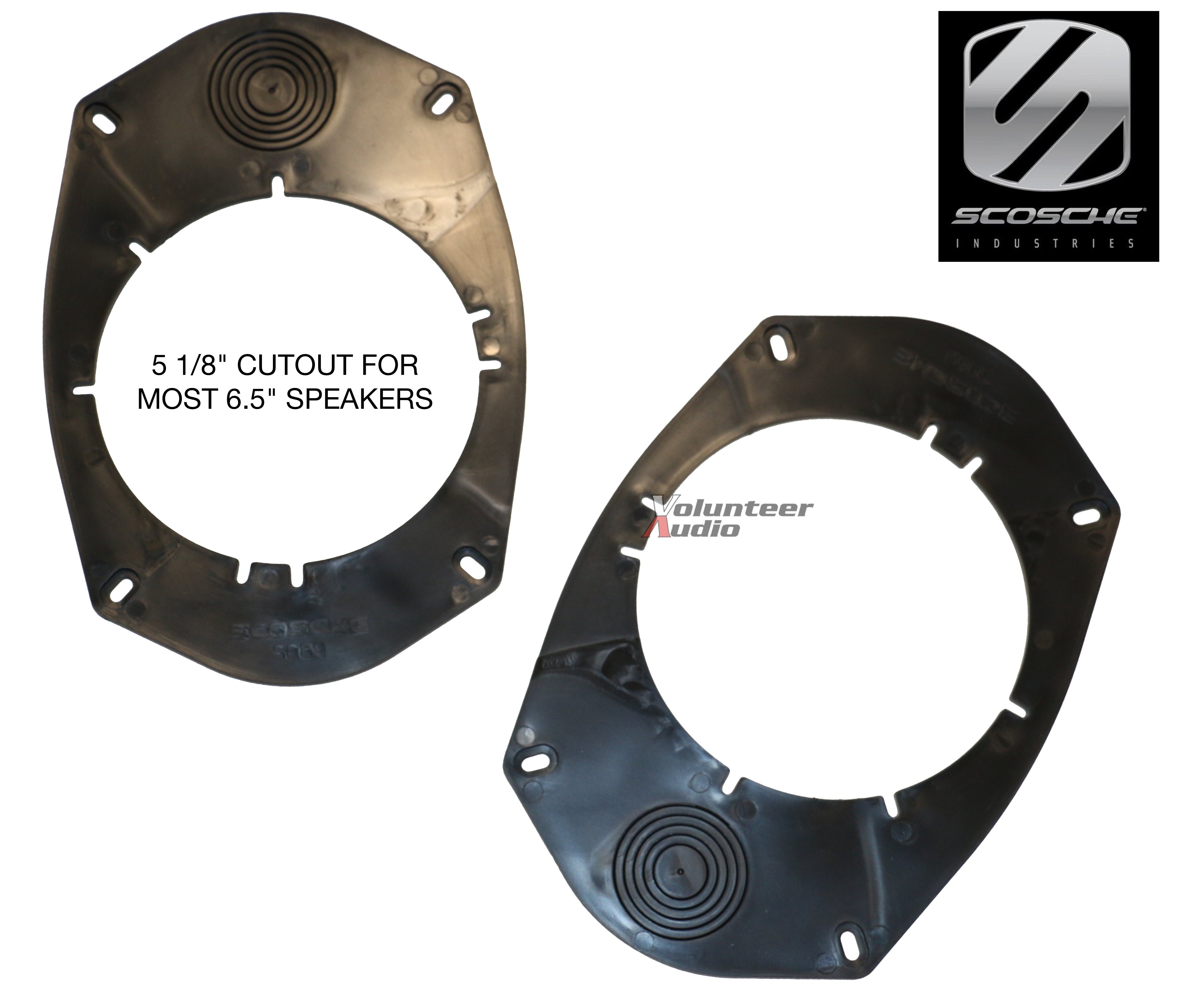 """Details about Scosche SA8 8x8"""" to 8.28"""" and 8.8"""" speaker adapters"""