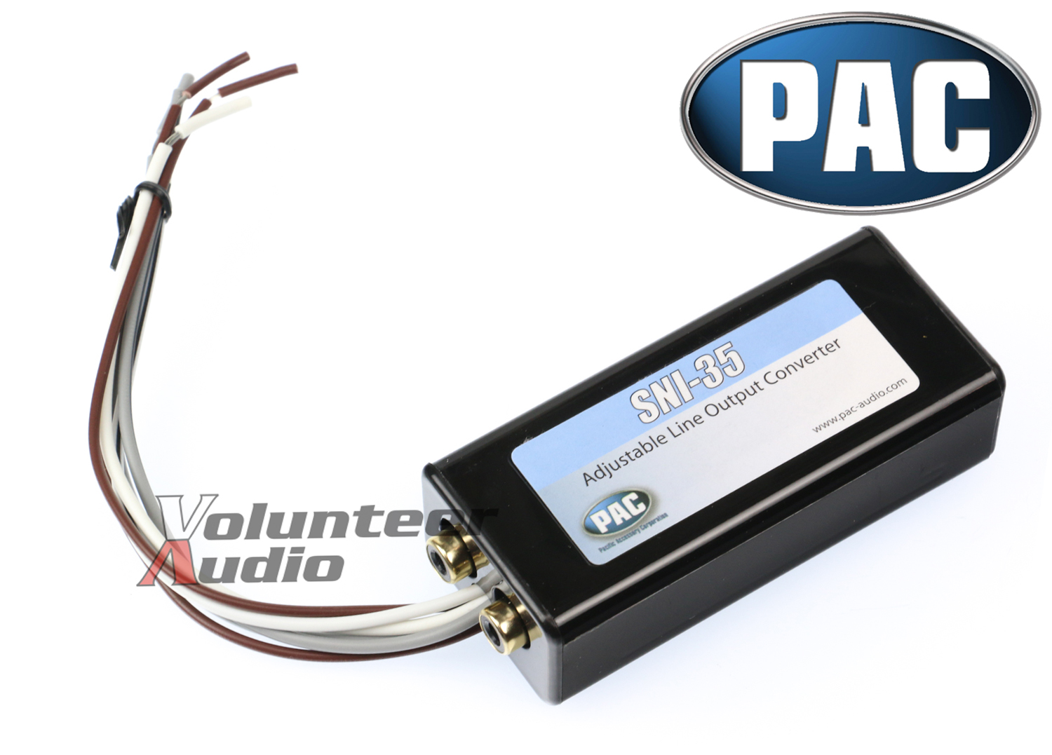 PAC SNI-35 2-CHANNEL ADJUSTABLE LINE-OUT CONVERTER