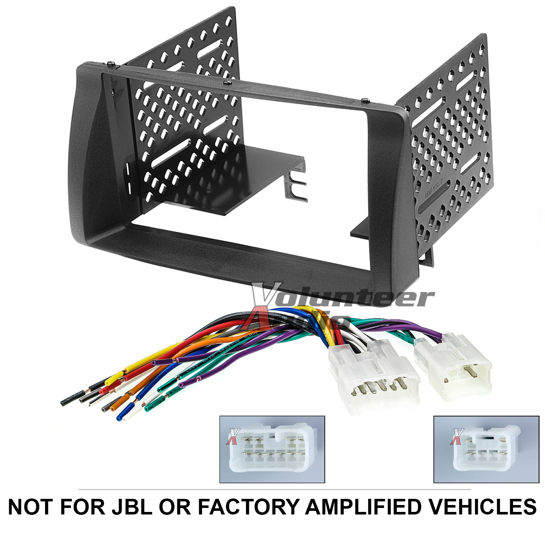 Toyota Corolla Double Din Car Stereo Radio Install Dash Bezel Kit Wiring  Harness | eBayeBay