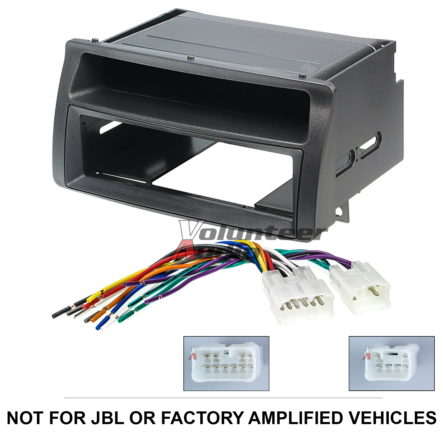 Single or Double Din Dash Kit for Toyota Corolla to Replace Stereo Radio