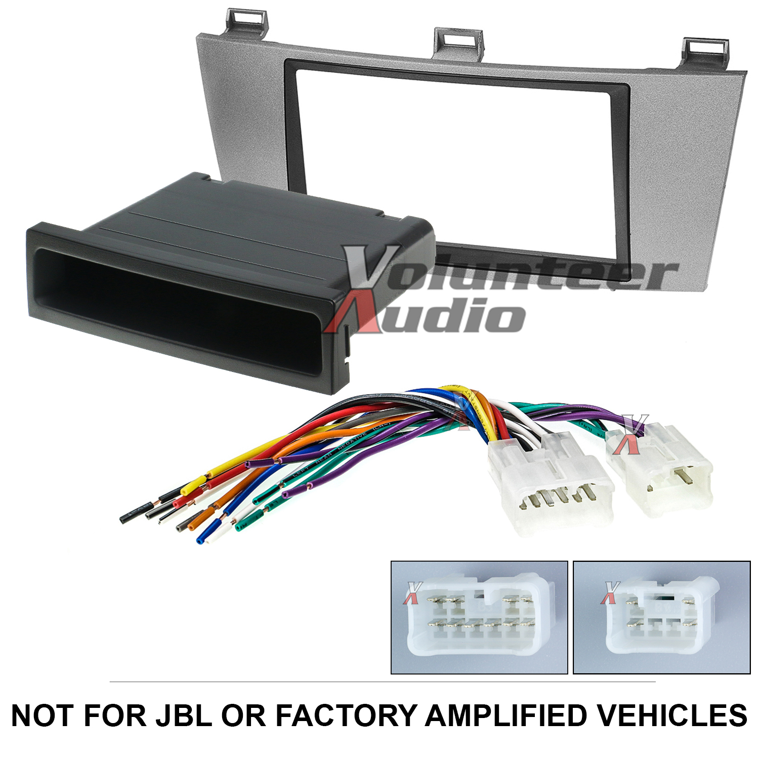 details about toyota solara double din car stereo radio installation dash mount kit harness Chevy Aveo Wiring Harness