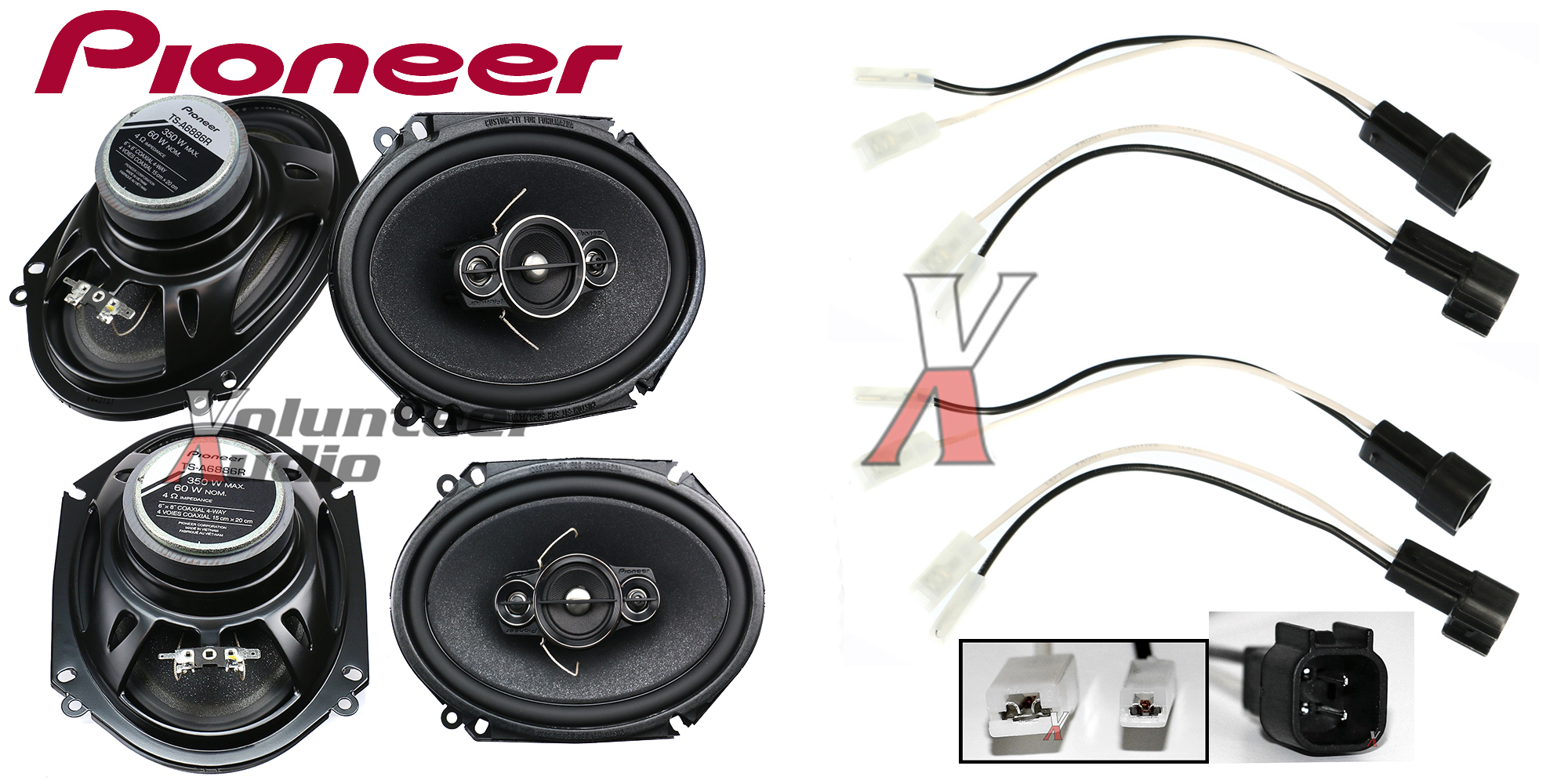 Pioneer Ts-A6886R 6X8 Speakers With Wiring Harness Fits Ford 2 Pairs on mazda stereo wiring diagram, mazda alternator wiring, mazda purge valve, mazda 2 lights, mazda maf sensor, mazda idiot lights, mazda headlight cover, mazda wiring housing, mazda timing belt, mazda rear axle assembly, mazda transmission cooler, mazda rear end, mazda throttle body, mazda fuel sending unit, mazda trunk latch, mazda wiring color codes, mazda solenoid, mazda wiring schematics, mazda 4 speed transmission, mazda motor,