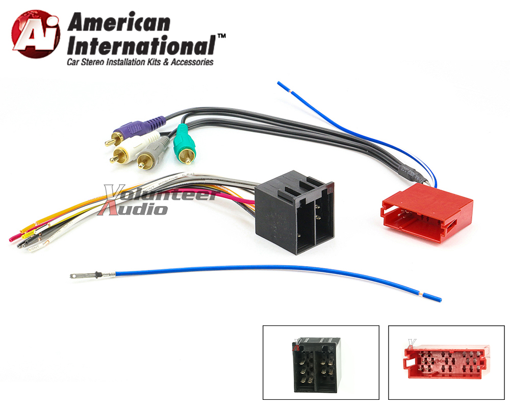 audi vw car stereo cd player wiring harness wire. Black Bedroom Furniture Sets. Home Design Ideas