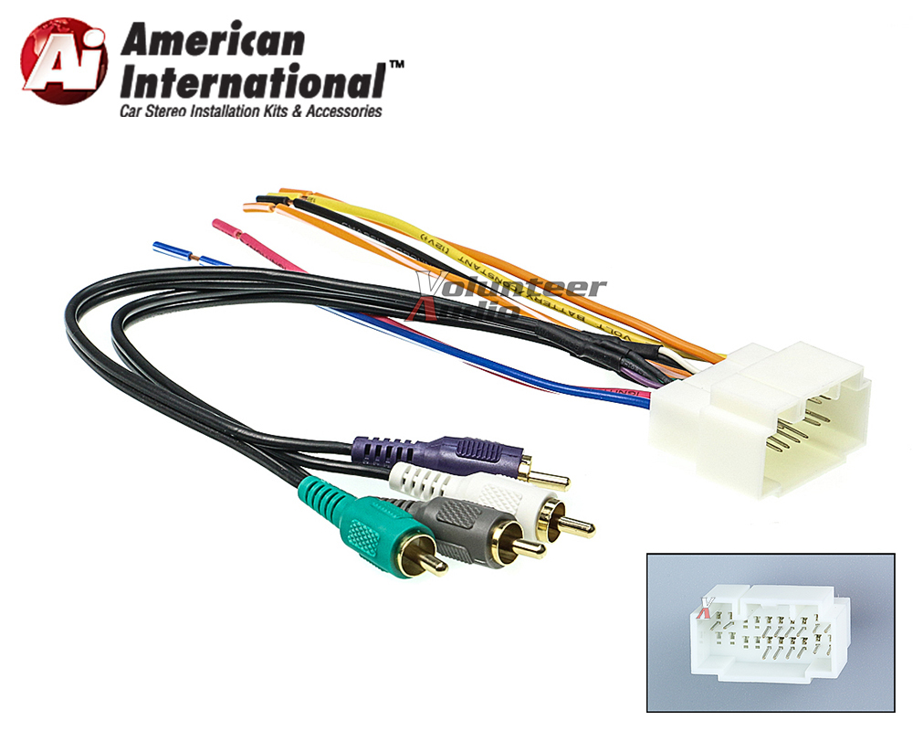 American International Acuk862 Hwh86a Volunteer Audio Wiring Harness