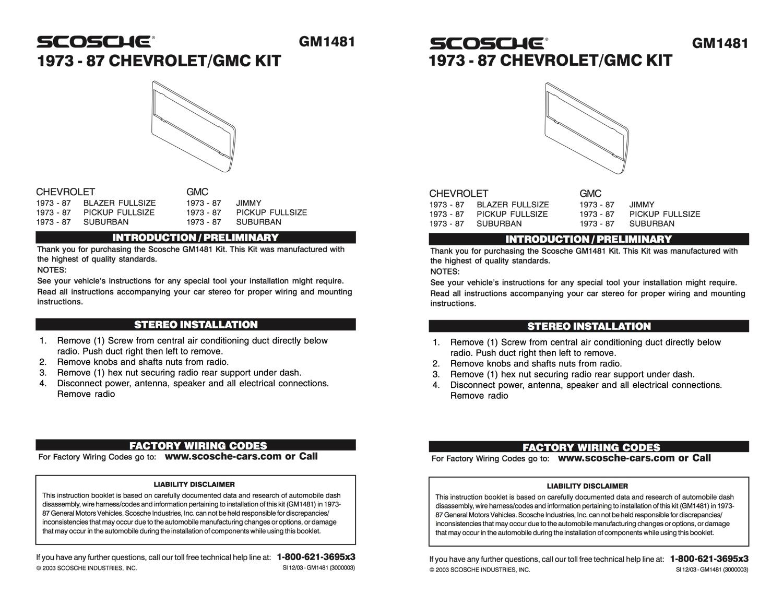 Scosche amplifier add on adapter instructions