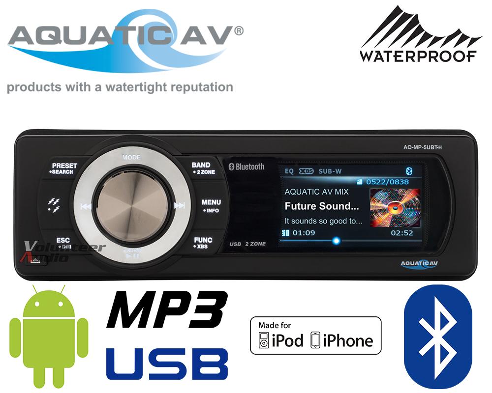 Aquatic Av Aq Mp Ubt H on Stereos For Harley Davidson Wiring